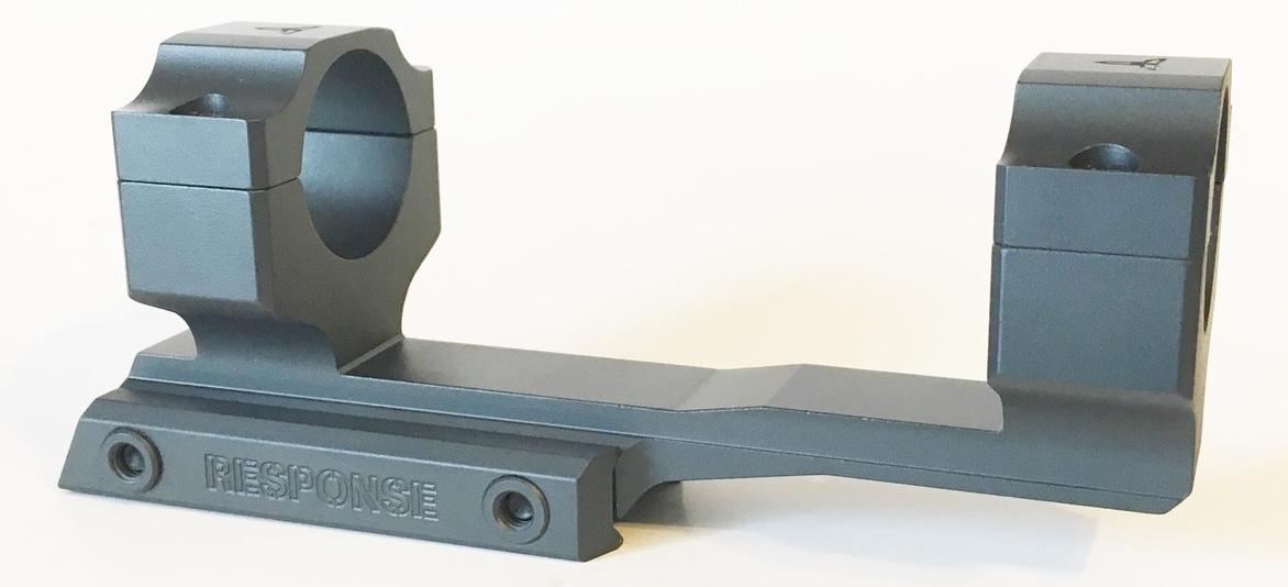 TRACT RESPONSE T-51 AR/MSR Mount - 1 inch - Graphite