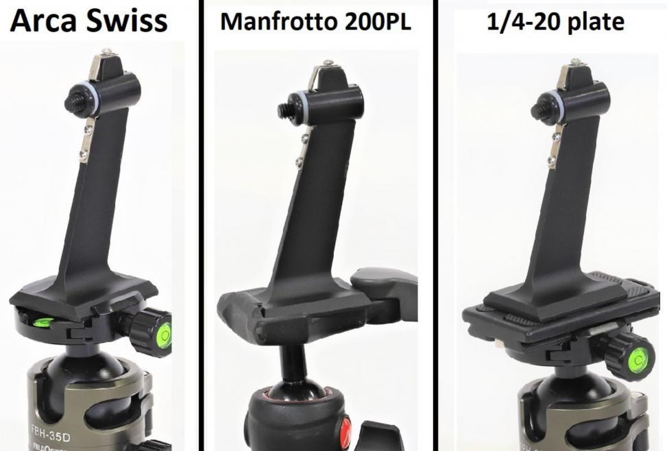 Binocular Tripod Adapter with Rapid Release Feature
