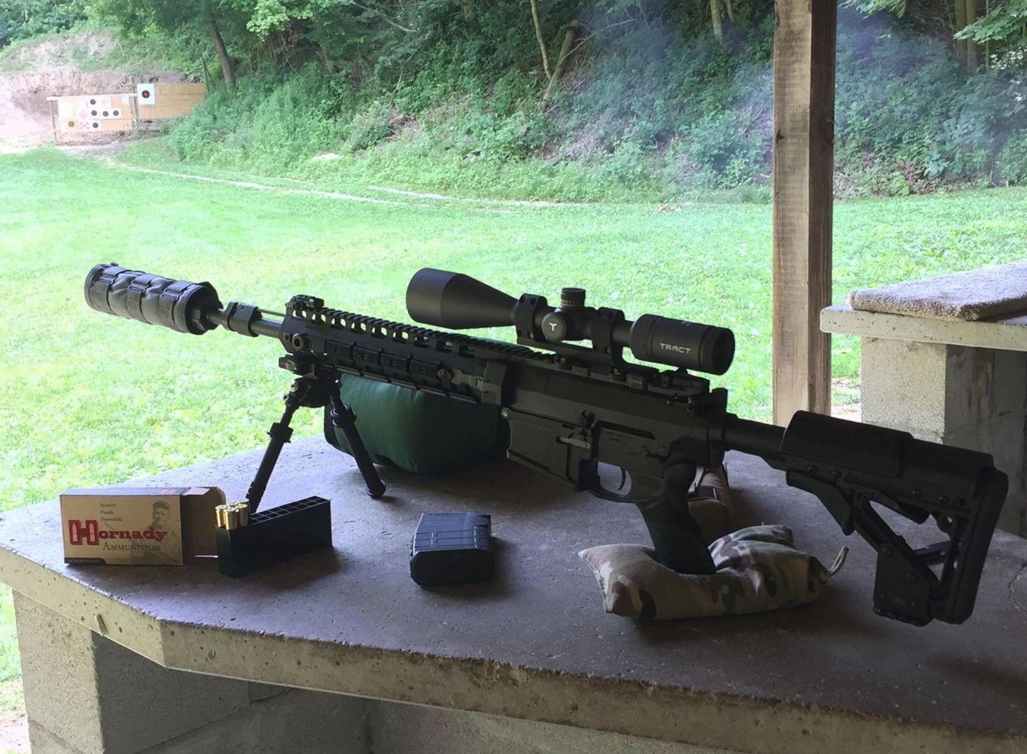 The 6.5mm Creedmoor Rifle Round